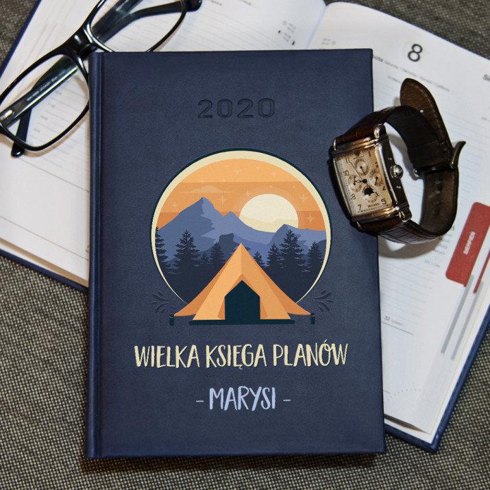 Wielka księga planów - kalendarz 2020