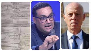 (بالفيديو) شكيب الدرويش : قيس سعيّد قام بسرقة تلاقيح موظفي السفارة الإماراتية بتونس و إقتطع منها له و لعائلته و وثيقة الصيدلية المركزية تورطه وتبرئ المشيشي