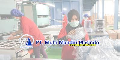 Lowongan Kerja PT. Multi Mandiri Plasindo Tangerang 2019