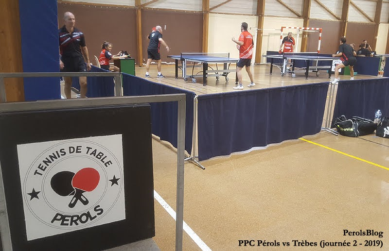 Pérols Ping Pong vs Trèbes
