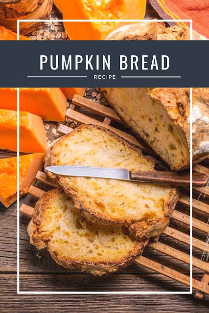Easy and delicious pumpkin bread recipe. This moist loaf of bread is made with yeast and white whole wheat flour. Use Libbys canned pumpkin or fresh pumpkin puree to make this from scratch. Use ginger and cardamom to make a savoury bread or pumpkin spice for a sweeter loaf. This is the best bread for Thanksgiving leftovers.  #pumpkin #bread