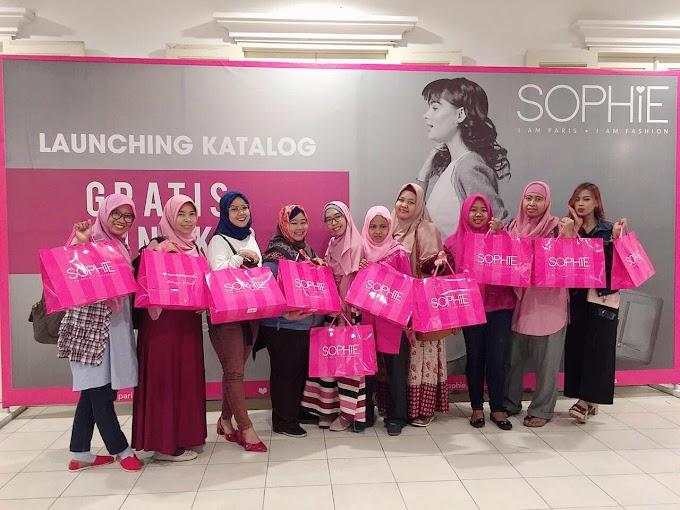 Sophie Paris Launching Katalog Gratis Ongkir