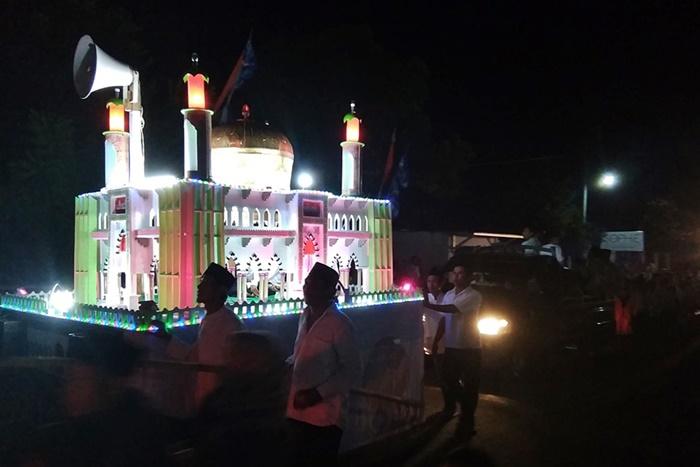 Pawai Malam Takbiran Lombok Pecahkan Rekor MURI