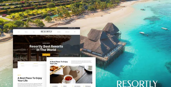 Best Resort and Hotel Elementor Template Kit