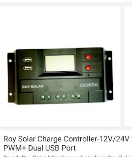 Simple solar inverter Setup