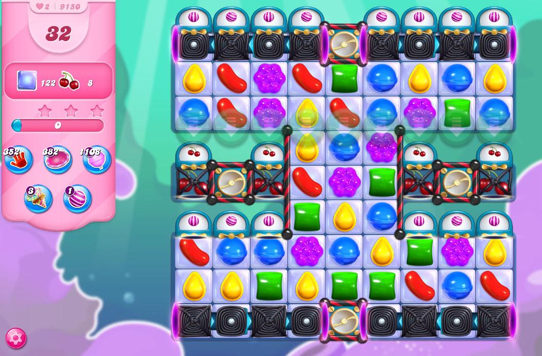 Candy Crush Saga level 9150
