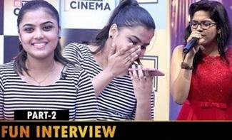Rakshitha's Real Face | Super Singer Rakshita Interview