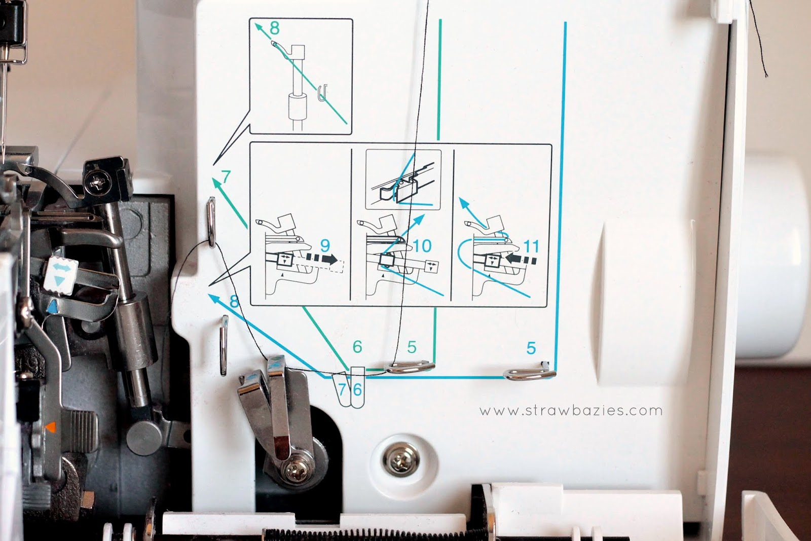 Elna Sewing Machine Parts Diagram Diesel Generator Wiring Brother Lock 546d Overlocker Manual