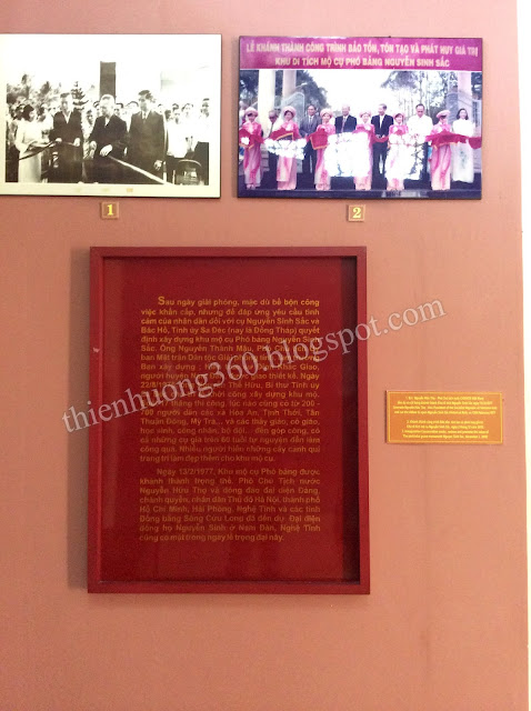 Lễ khánh thành Khu Di tích lăng cụ Phó bảng Nguyễn Sinh Sắc 13/02/1977