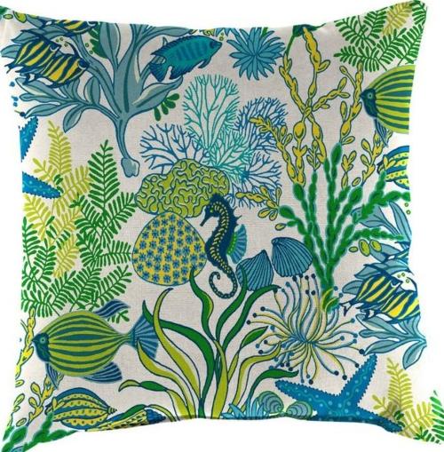 Sea Ocean Outdoor Pillows
