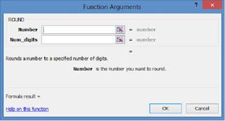 fungsi argument rumus Round