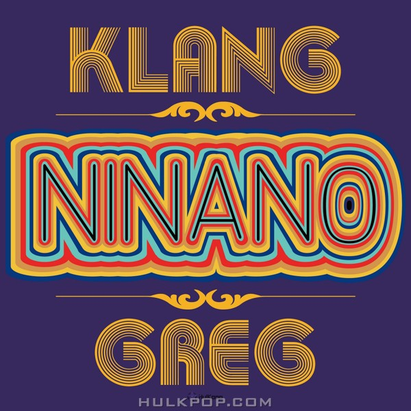 KLANG, Greg – NINANO – Single