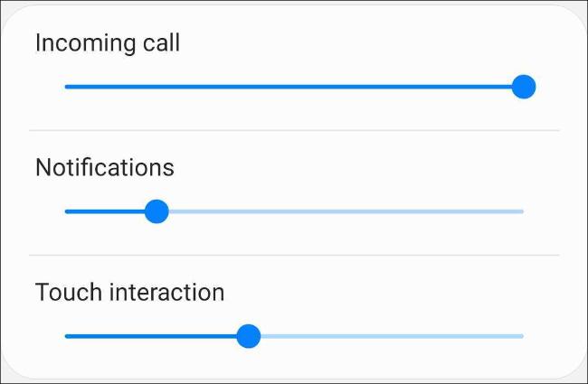 اضبط شدة الاهتزاز على هاتف Samsung Android
