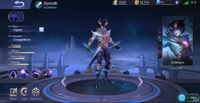 Hero Baru Darius/Dyrroth
