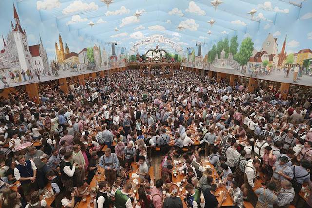 Crescimento da Oktoberfest na Alemanha