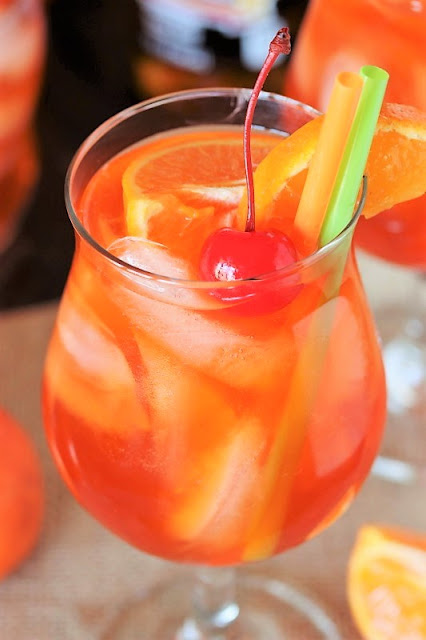 Orange Creamsicle Shirley Temple photo