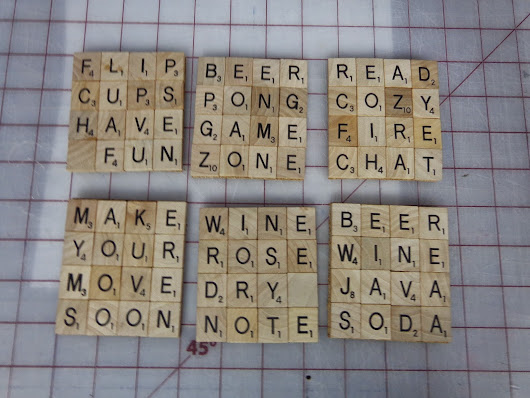 Scrabble Tile Fun