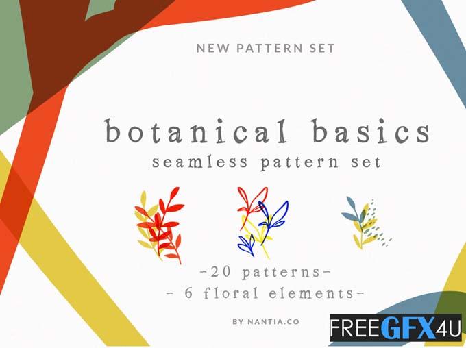 Botanical Pattern Set