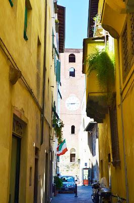 Torre de las Horas en Lucca, Toscana