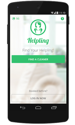 download helpling mobile app ios android
