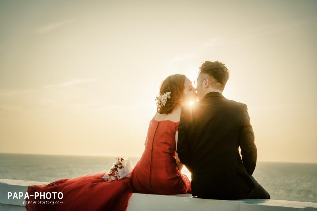 PAPA-PHOTO婚禮影像 老梅石槽婚紗 富貴角燈塔 自助婚紗 桃園婚紗推薦