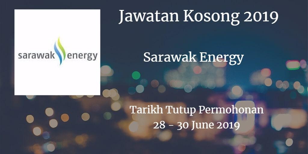 Jawatan Kosong Sarawak Energy 28 - 30 June 2019