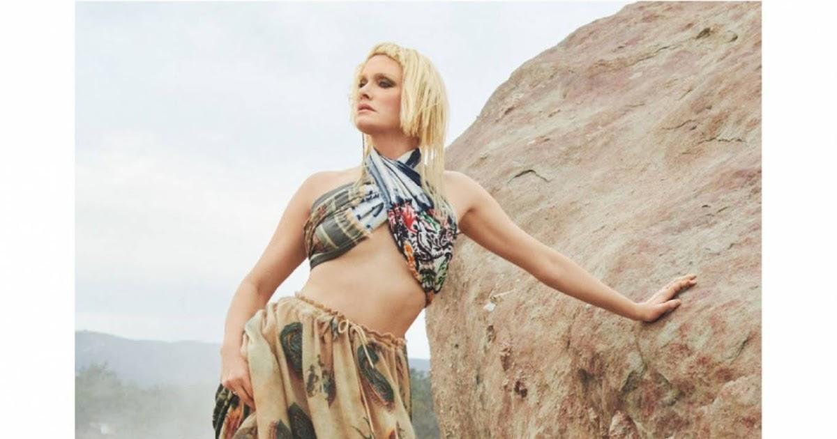 Amber Valletta – British Vogue (April 2021)