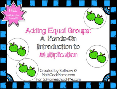Adding equal groups cover