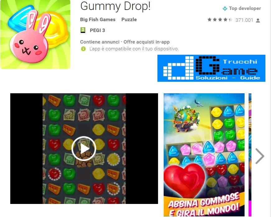 Trucchi Gummy Drop Mod Apk Android v2.22.0