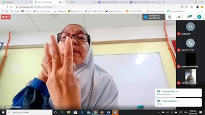 Ustazah Shalehah binti Mat Zin dalam Halaqah Ilmu Kedah 2020