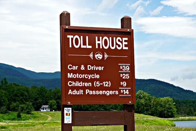 Precios en la Entrada a Mount Washington, New Hampshire