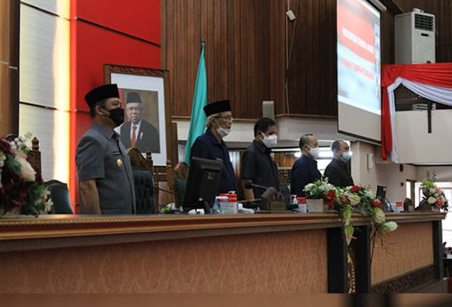 Wagub Sampaikan Nota Penjelasan Gubernur Kalbar Atas Raperda Pertanggungjawaban APBD Kalbar 2020