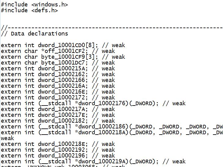 Stuxnet Source Code