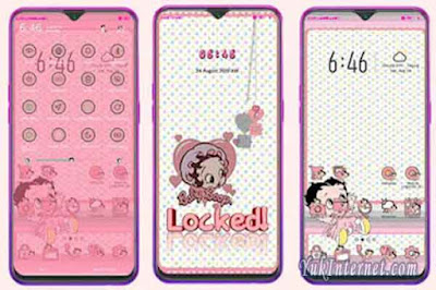 Download Tema Betty Boop Merchandise OPPO Realme
