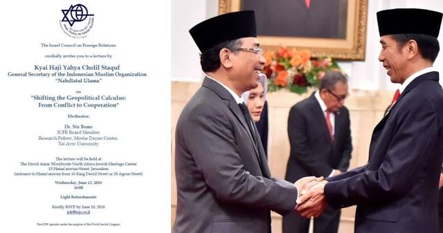 GEGER! Anggota Wantimpres Jokowi ke Israel, Palestina dan Umat Islam Kecewa