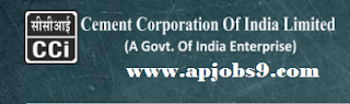 Cement Corporation of India Recruitment of Artisan Trainees