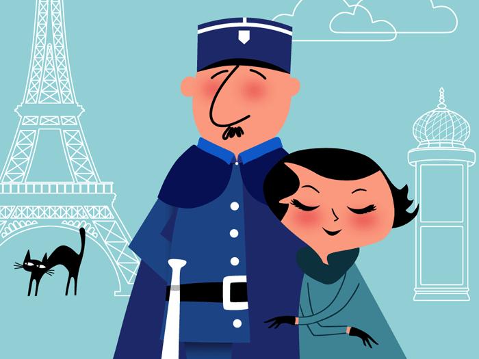 tableau paris moderne