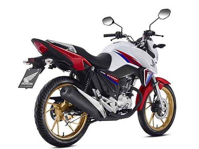 Honda CG 160 Titan 2016 40 ano