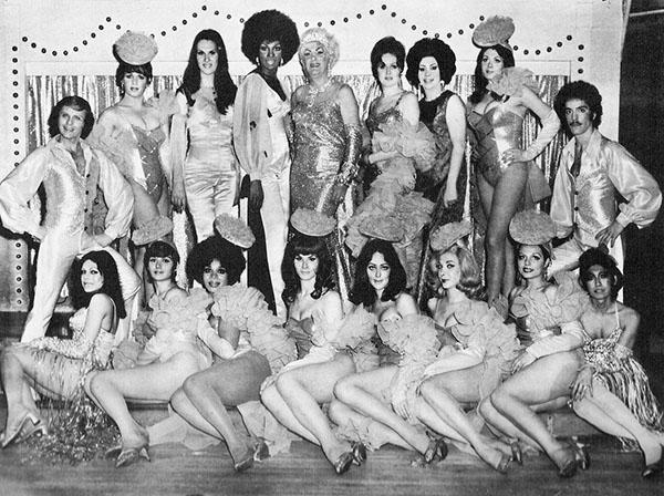 Femulators of Club 82, circa 1975