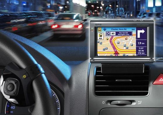 GPS no aluguel do carro no Canadá