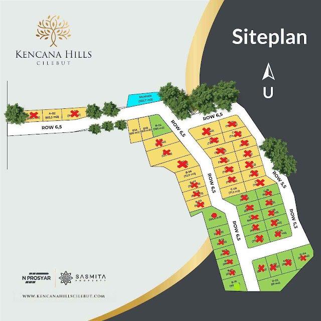siteplan-kencana-hills-cilebut-perumahan-islami-syariah-di-cilebut-bogor