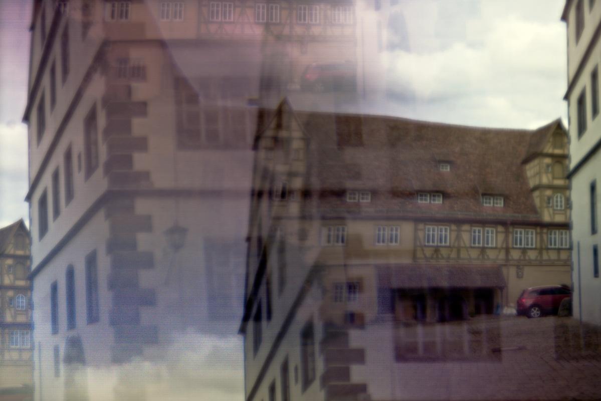 4-facher Spitalhof in Rothenburg o. T.
