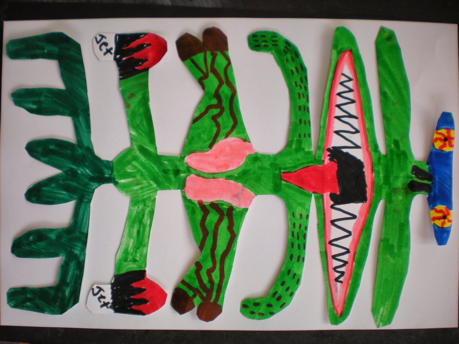 Symmetry Art Lesson 3rd Grade
