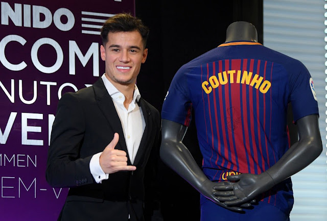 FC Barcelona Unveil Philippe Coutinho