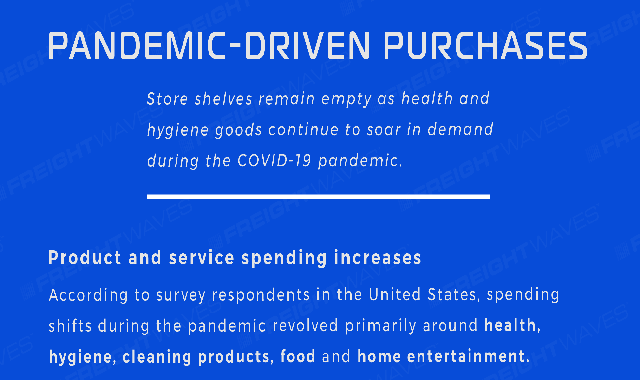 Pandemic-driven purchases #infographic