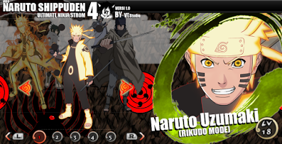 Download Mod Texture Naruto Shippuden Ultimate Ninja Storm  Download Mod Texture Naruto Shippuden Ultimate Ninja Storm 4 PPSSPP