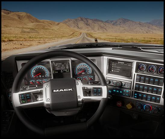 Mack Anthem Driver Dashboard
