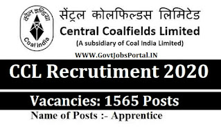 CCL NEW VACANCY 2020