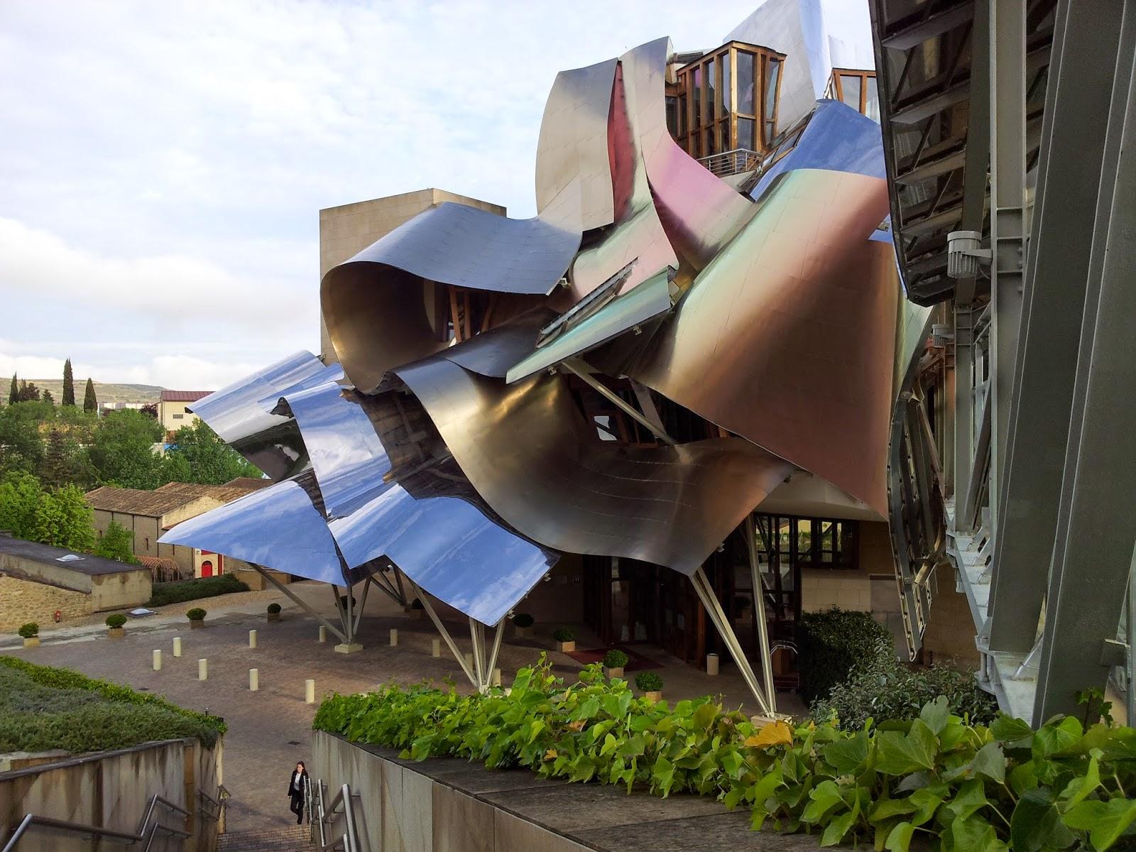 Rioja luxury hotel Marques de Riscal