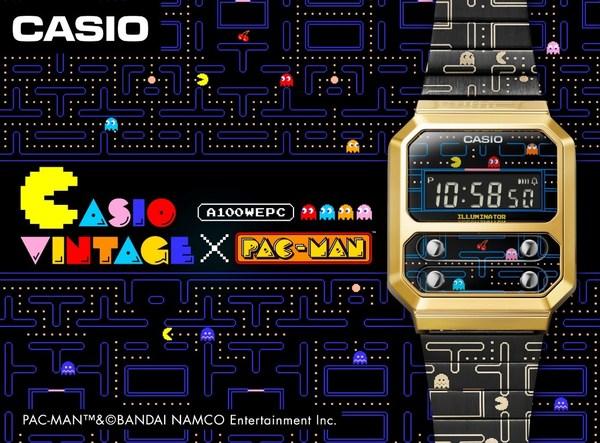 Casio PAC-MAN สีสันสดใส ในสไตล์เรโทร